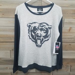 47 Brand | NWT Chicago Bears Thermal Graphic Tee S